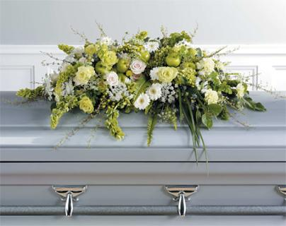 Ireland Green Casket Spray