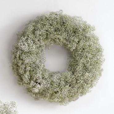 Baby\'s Breath Wreath