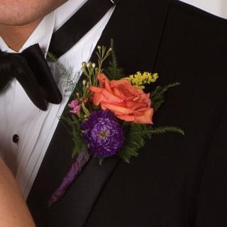 Mix with Rose Boutonniere