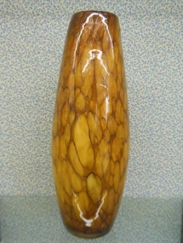 "brown and Gold Marble 19 3/4"" Tall 3 1/4\"" Opening"