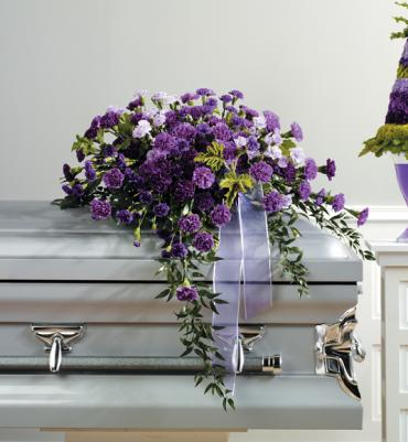 Cherished Casket Spray