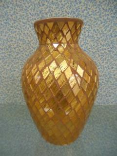 "Gold Tile 11"" Tall 2 1/2\"" Opening"