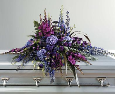 Gracious Love Casket Spray
