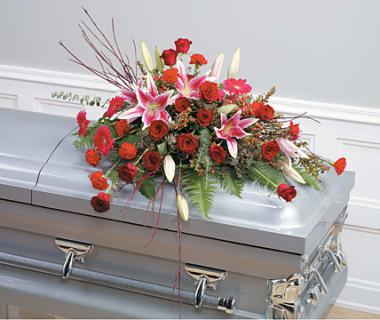 Heartfelt Casket Spray