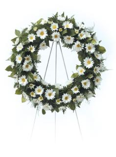 Spring Daisy Wreath