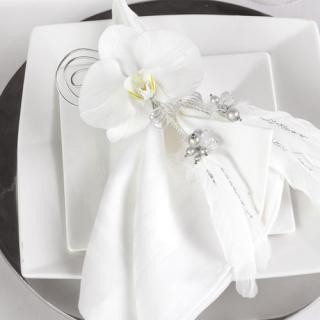 Orchid Napkin Decoration